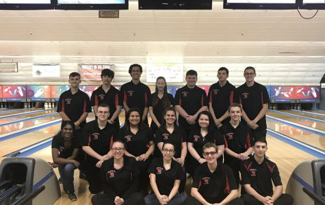 Boys and Girls Bowling became white division champions against Colonia High School. Boys are currently 13-1-1 and Girls are 10-1-2.